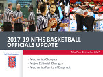 2017-19 Basketball 3-Officials Mechanics Power Point