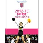 2012-2013 Spirit Rule Book (Due In Stock June 2012)