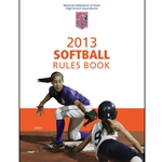 2013 Softball Rule Book (Due In Stock October 2012)