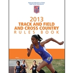 2013 Track & Field Rule Book (Due In Stock September 2012)